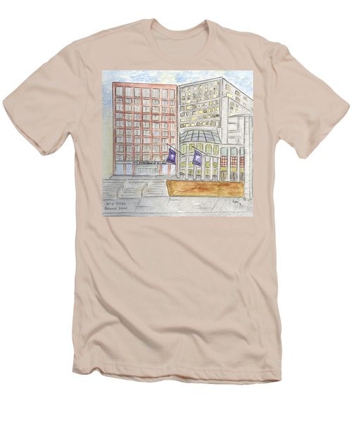 Nyu Stern School Of Business Men's T-Shirt (Athletic Fit)