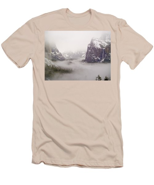 Storm Brewing Men's T-Shirt (Slim Fit) by Bill Gallagher