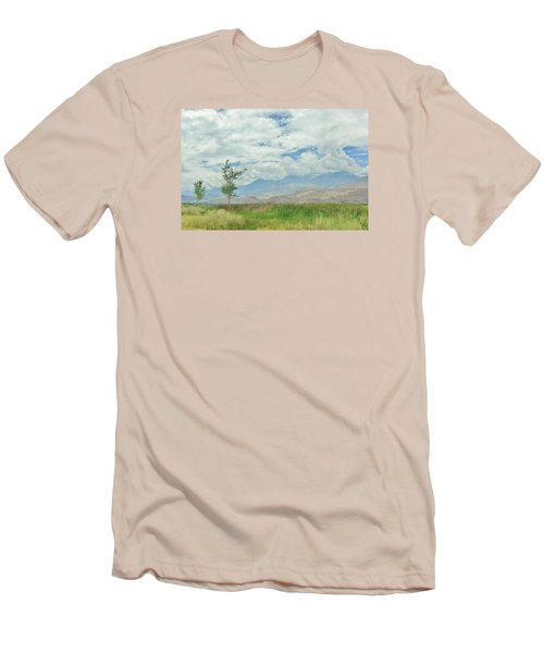 Men's T-Shirt (Slim Fit) featuring the photograph Stormin by Marilyn Diaz