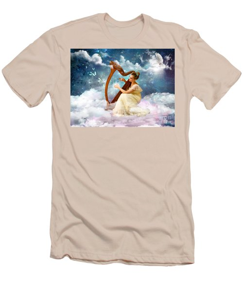 Strings Of My Heart Men's T-Shirt (Slim Fit)