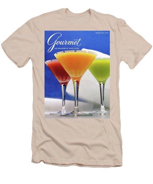 Summer Cocktails Men's T-Shirt (Slim Fit)