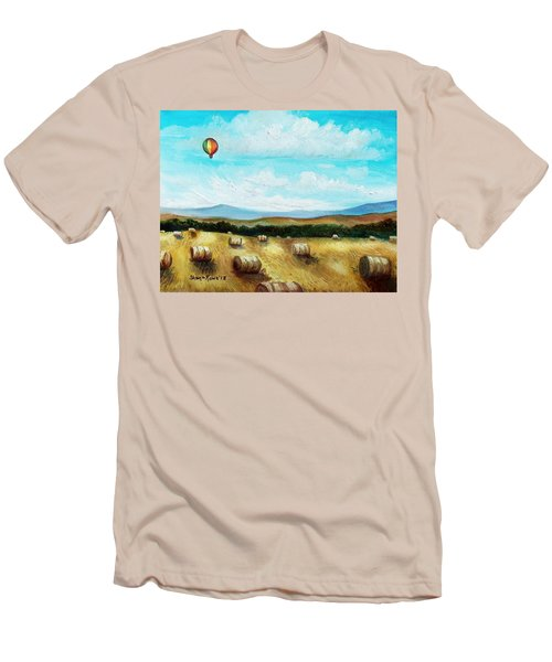 Summer Flight 3 Men's T-Shirt (Athletic Fit)