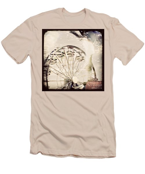 Men's T-Shirt (Slim Fit) featuring the photograph Summer Fun by Trish Mistric