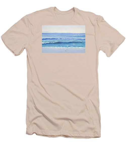 Summer Seascape Men's T-Shirt (Athletic Fit)