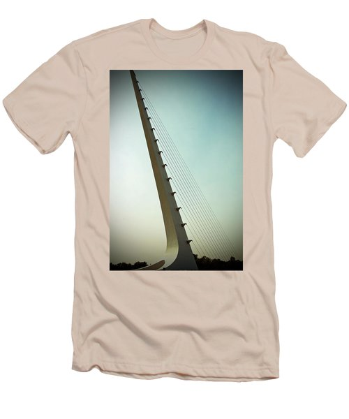 Sundial At Sunrise Men's T-Shirt (Slim Fit)
