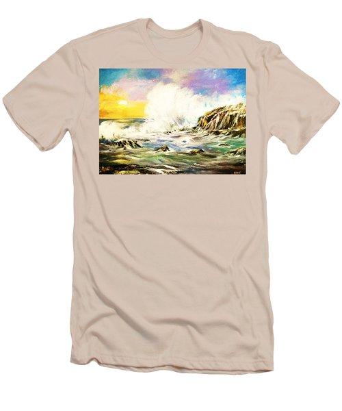 Sunset Breakers Men's T-Shirt (Athletic Fit)