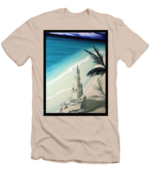 Surprise Blessing Men's T-Shirt (Slim Fit) by Dianna Lewis