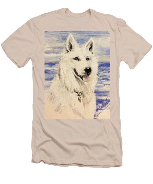 Swiss Shepherd Men's T-Shirt (Slim Fit)