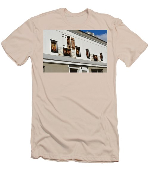 Syncopated Tobacco Barn Men's T-Shirt (Athletic Fit)