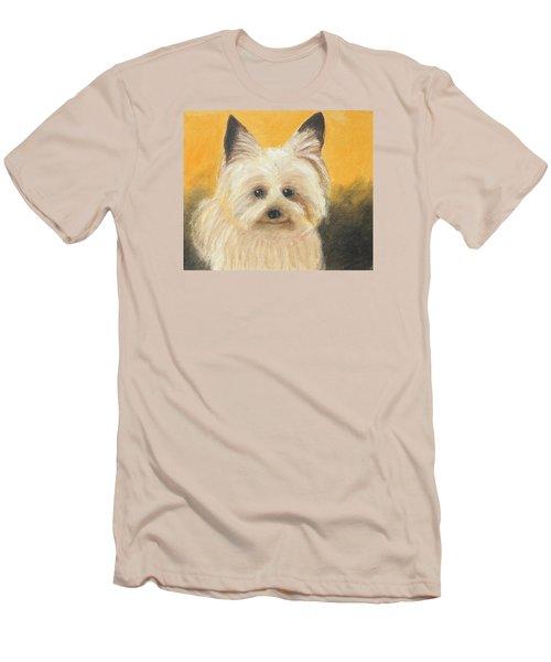 Terrier Men's T-Shirt (Slim Fit) by Jeanne Fischer