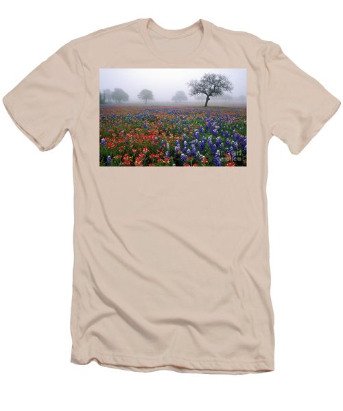 Texas Spring - Fs000559 Men's T-Shirt (Athletic Fit)