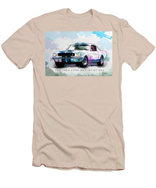 The 1965 Ford Shelby Gt 350  Men's T-Shirt (Athletic Fit)
