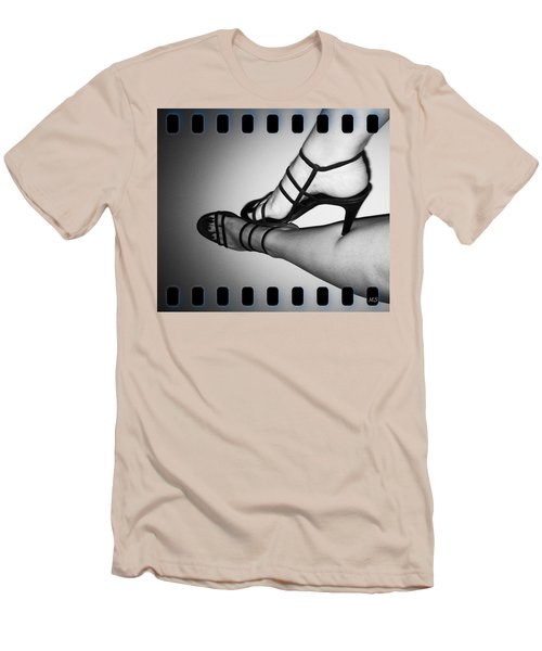 The Art Of Stilettos Men's T-Shirt (Slim Fit) by Absinthe Art By Michelle LeAnn Scott