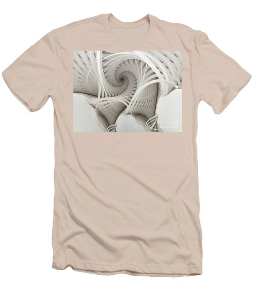 The Beauty Of Math-fractal Art Men's T-Shirt (Athletic Fit)