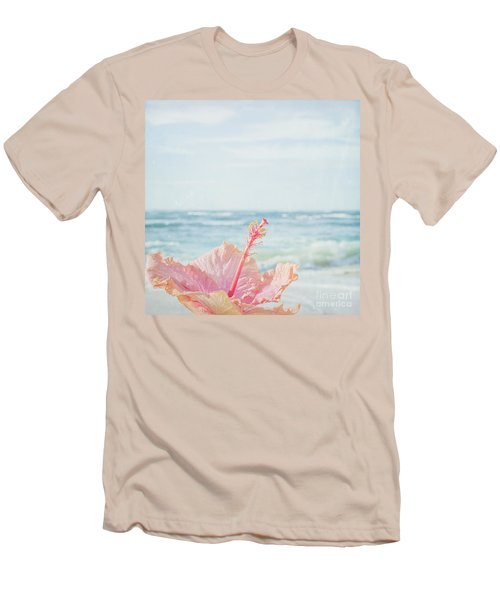 Men's T-Shirt (Athletic Fit) featuring the photograph The Blue Dawn by Sharon Mau
