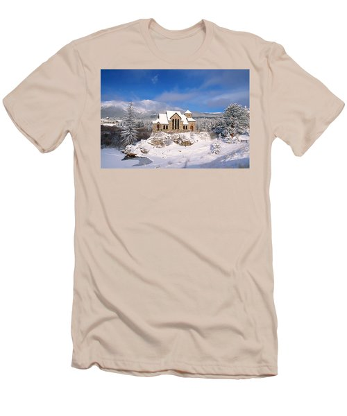 The Chapel On The Rock 3 Men's T-Shirt (Athletic Fit)