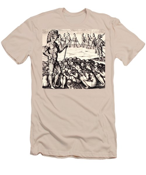 The Chieffe Applyed To By Women Men's T-Shirt (Slim Fit) by Peter Gumaer Ogden