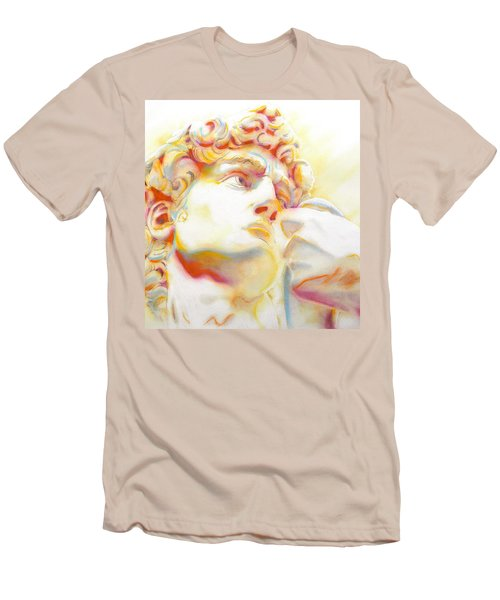 The David By Michelangelo. Tribute Men's T-Shirt (Athletic Fit)