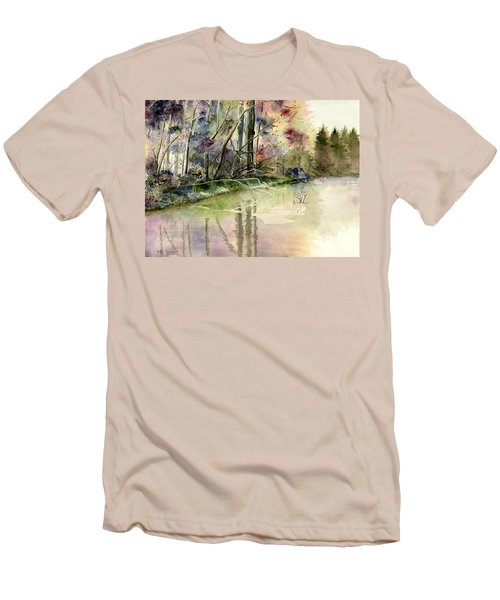 The End Of Wonderful Day Men's T-Shirt (Athletic Fit)