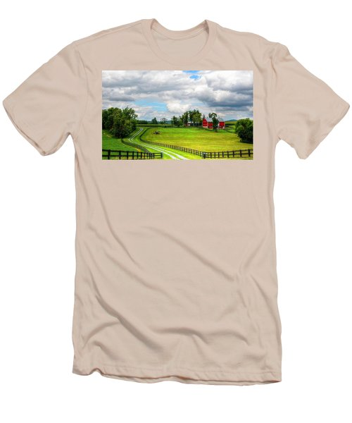 The Farm Men's T-Shirt (Slim Fit) by Ronda Ryan