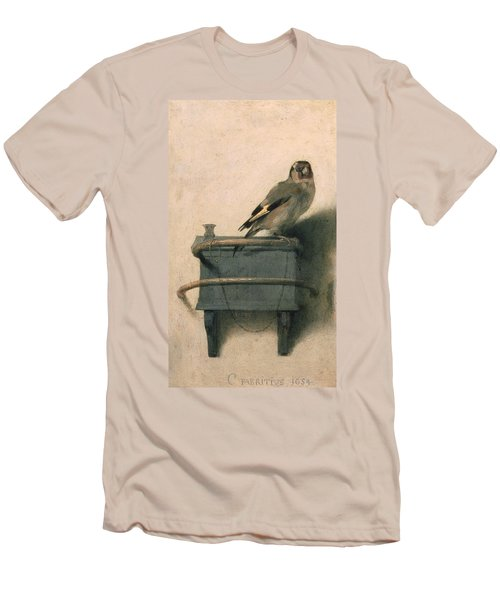 The Goldfinch Men's T-Shirt (Athletic Fit)
