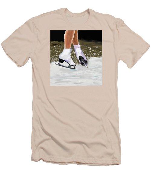 The Jump Men's T-Shirt (Slim Fit) by Jeanne Fischer