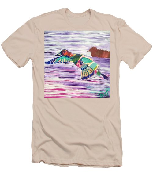 The King Canvasback Men's T-Shirt (Athletic Fit)