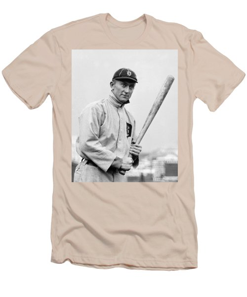 The Legendary Ty Cobb Men's T-Shirt (Athletic Fit)
