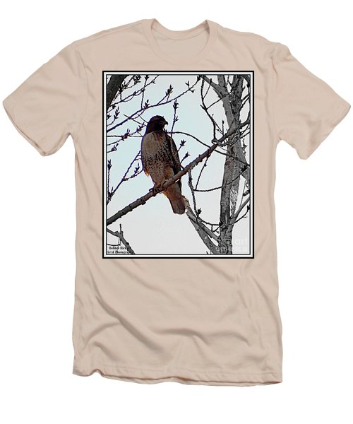 The Majestic Hawk Men's T-Shirt (Athletic Fit)