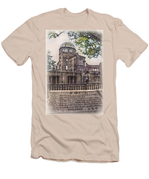 Men's T-Shirt (Slim Fit) featuring the photograph The Memorial by Hanny Heim