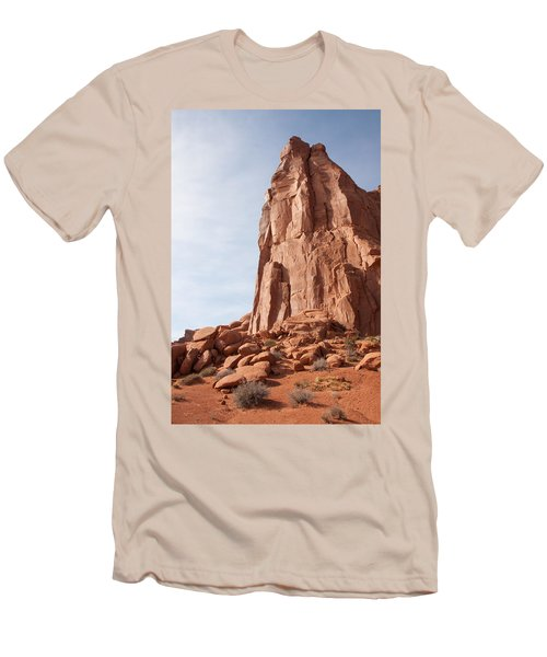 Men's T-Shirt (Slim Fit) featuring the photograph The Monolith by John M Bailey