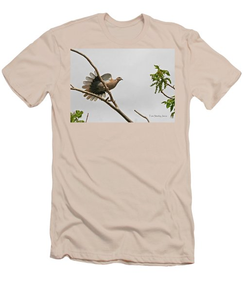 Men's T-Shirt (Slim Fit) featuring the photograph The New Dove In Town by Tom Janca