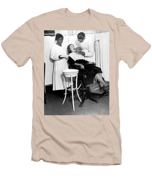 The North Harlem Dental Clinic Men's T-Shirt (Slim Fit) by Underwood Archives