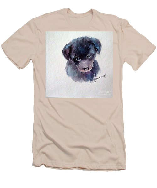 The Puppy Men's T-Shirt (Athletic Fit)