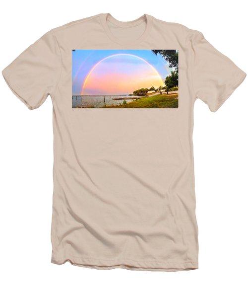 The Rainbow Men's T-Shirt (Slim Fit) by Carlos Avila
