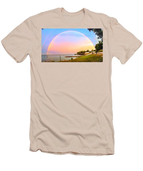 The Rainbow Men's T-Shirt (Athletic Fit)
