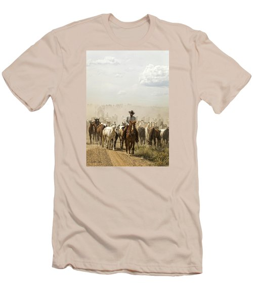 The Road Home 2013 Men's T-Shirt (Slim Fit) by Joan Davis