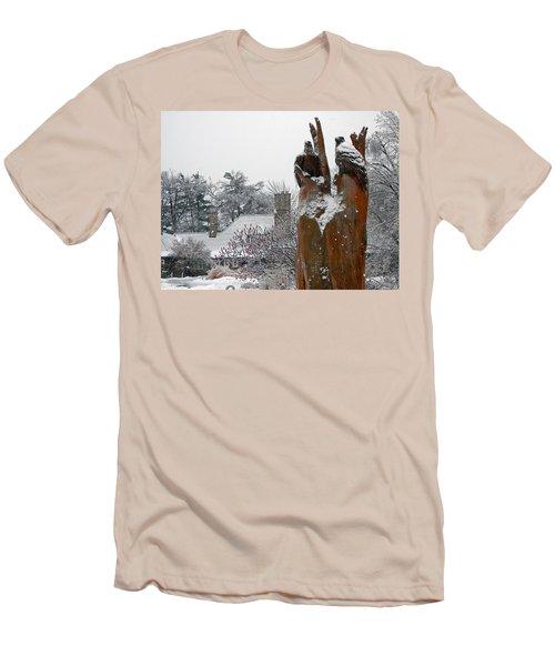The Sentinels Men's T-Shirt (Slim Fit) by Pema Hou