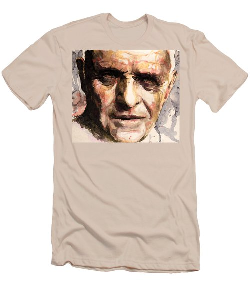 The Silence Of The Lambs Men's T-Shirt (Slim Fit) by Laur Iduc