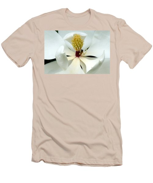 The Southern Magnolia Men's T-Shirt (Slim Fit) by Kim Pate