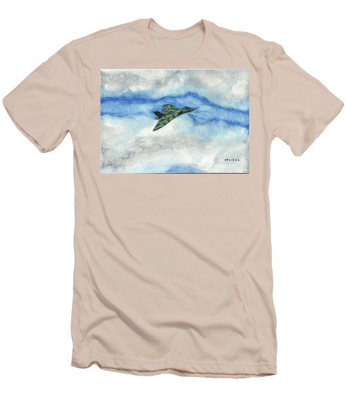 The Vulcan Bomber Men's T-Shirt (Slim Fit) by John Williams