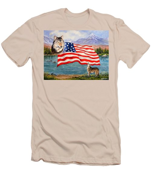 The Wildlife Freedom Collection 1 Men's T-Shirt (Athletic Fit)