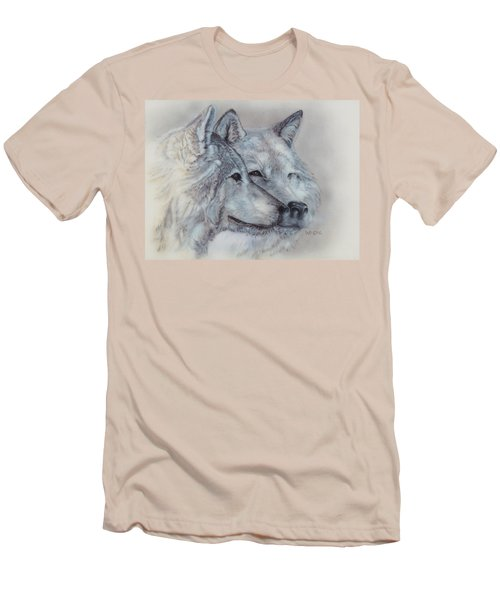 They Mate For Life Men's T-Shirt (Athletic Fit)