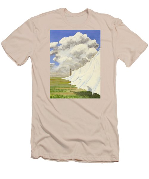 Three Sheets To The Wind Men's T-Shirt (Slim Fit) by Jack Malloch