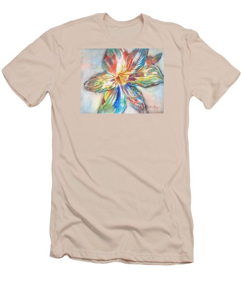 Tiger Lilly Men's T-Shirt (Slim Fit) by Mary Haley-Rocks