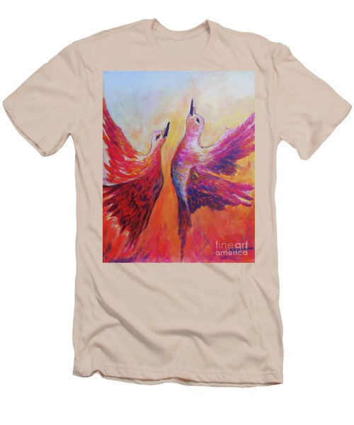 Towards Heaven Men's T-Shirt (Athletic Fit)