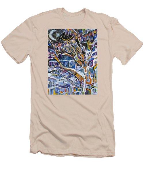 Transitions Men's T-Shirt (Slim Fit) by Leela Payne