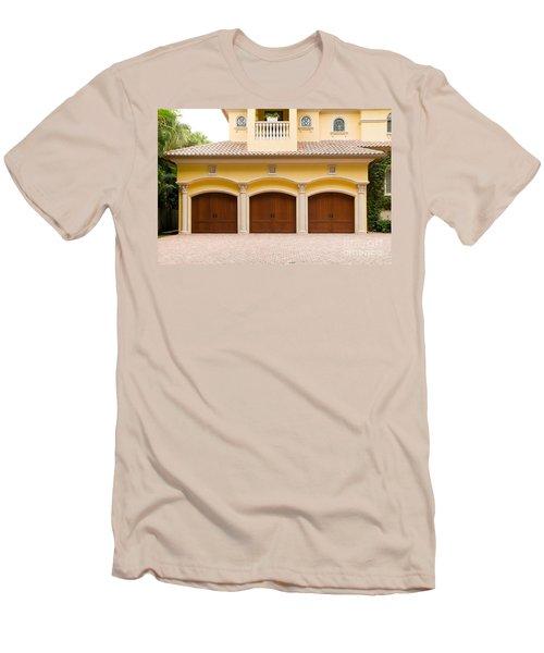 Triple Garage Doors Men's T-Shirt (Athletic Fit)