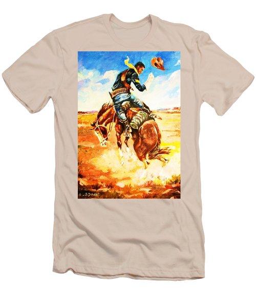 Trooper On A Skiddish Mount Men's T-Shirt (Athletic Fit)