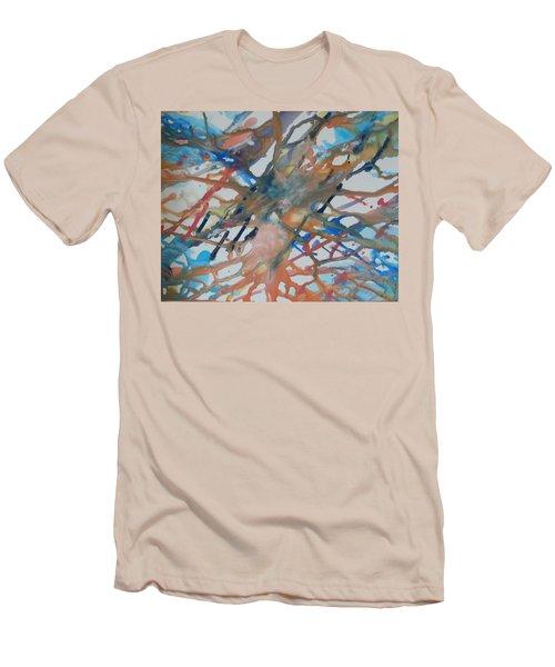 Tube Men's T-Shirt (Slim Fit) by Thomasina Durkay